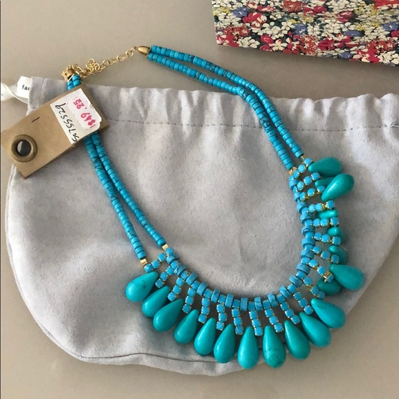 Anthropologie Jewelry - NWT turquoise necklace